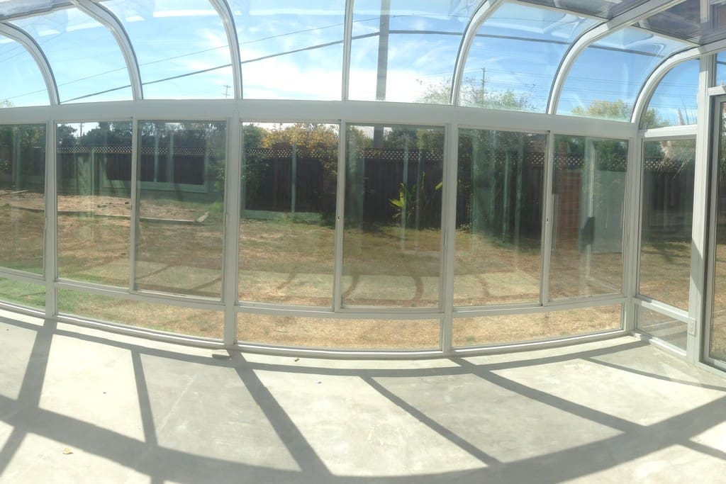 Sun room to relax