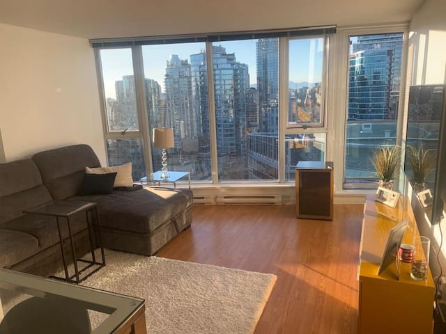 Entire place, awesome location Downtown Vancouver