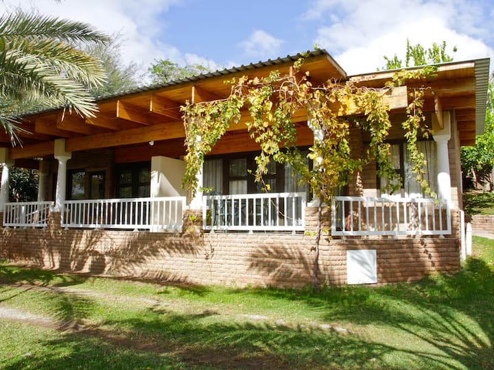 Ikaia River Lodge Family Self-catering River view