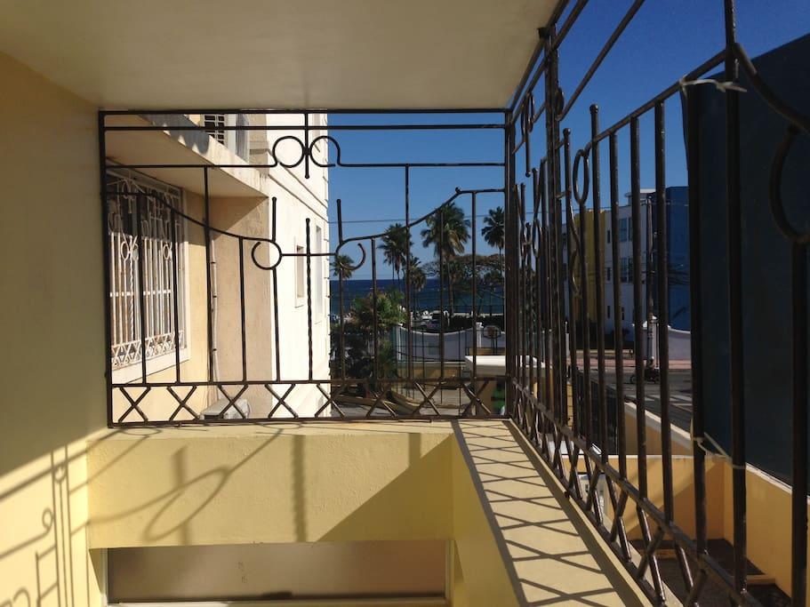 Private Seaview Balcony.