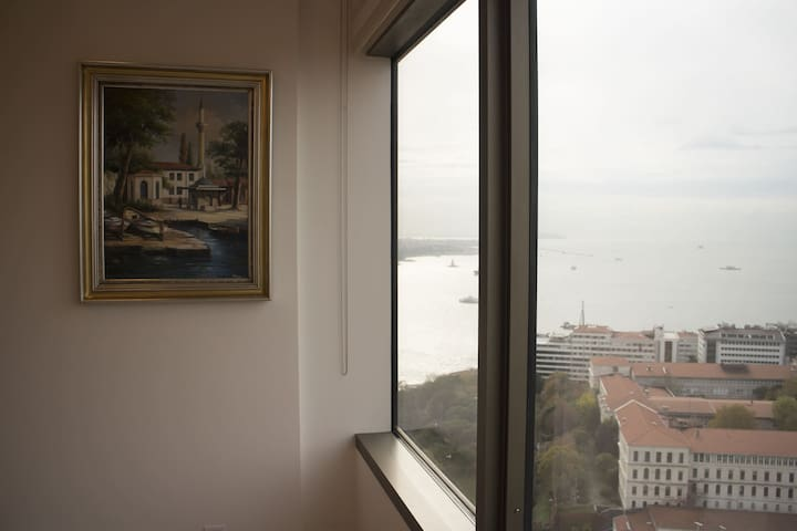 Amazing Bosphorus and Old Town panaromic view