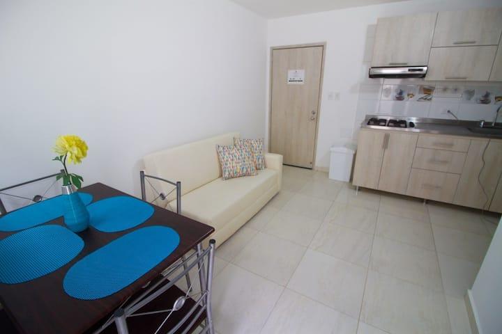 Apartamento 112 nuevo en Gaira cerca a Rodadero