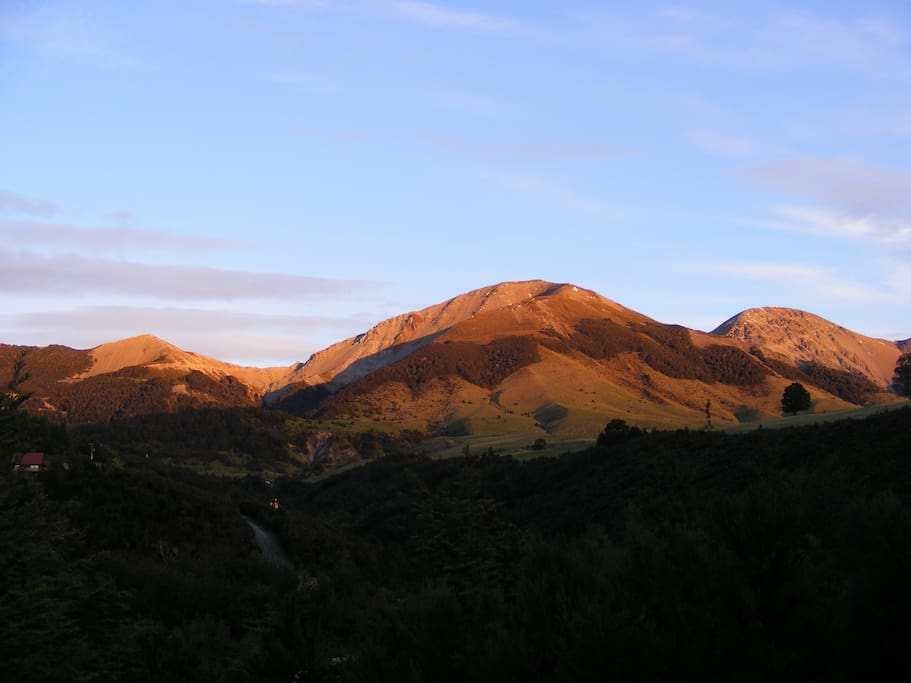 6.30am  Nov5. Mt lyford from the house