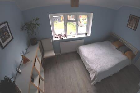 Lovely room from garden side!!!