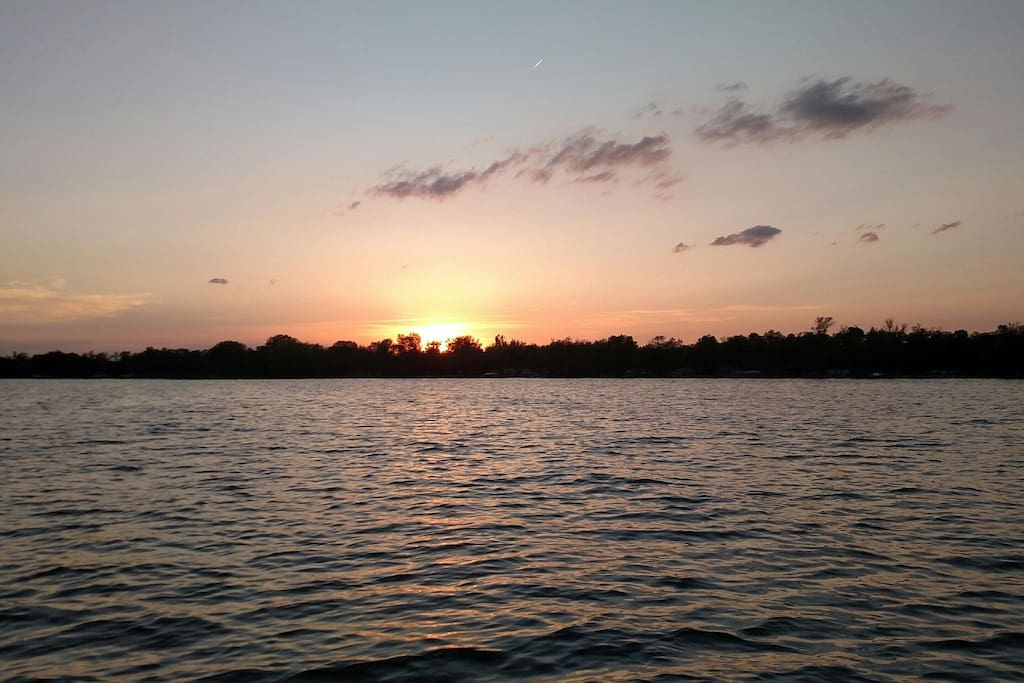 Ottertail Lake Sunset