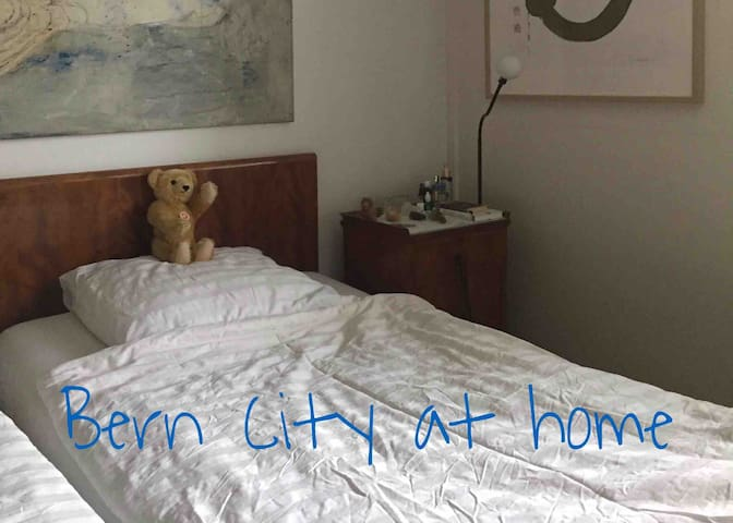 Bern City at home - one bed in a private flat