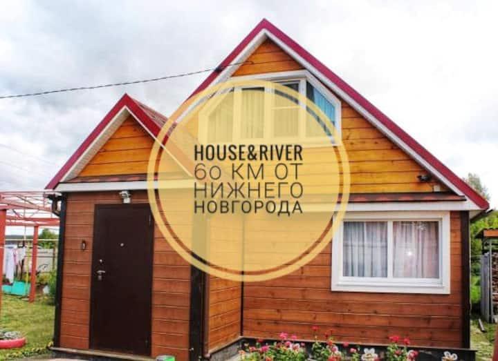Загородный дом VORSMA&HOUSE г. Ворсма