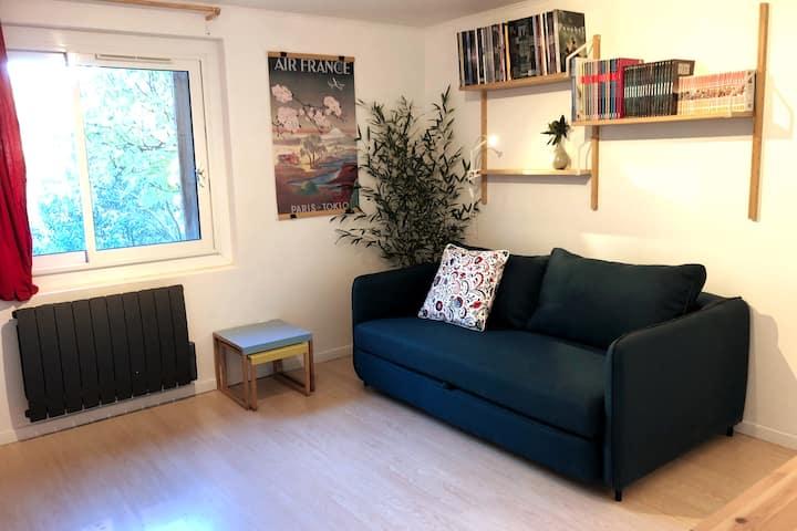 Studio à Cabriès, au vert !