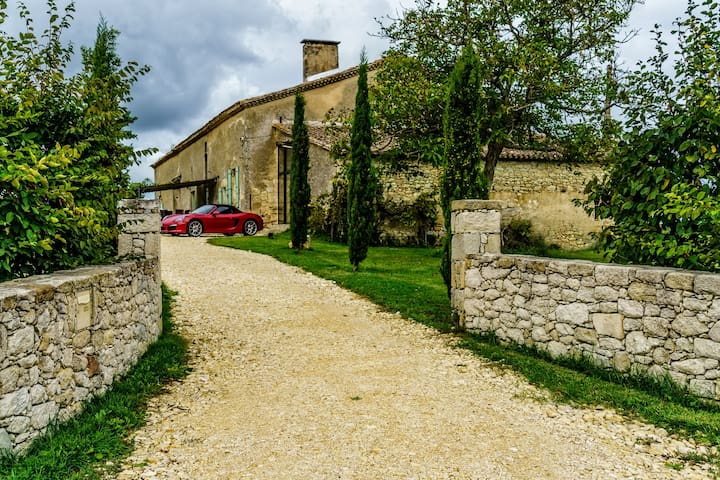 Luxury Home in the Vineyards - Pellegrue - Casa