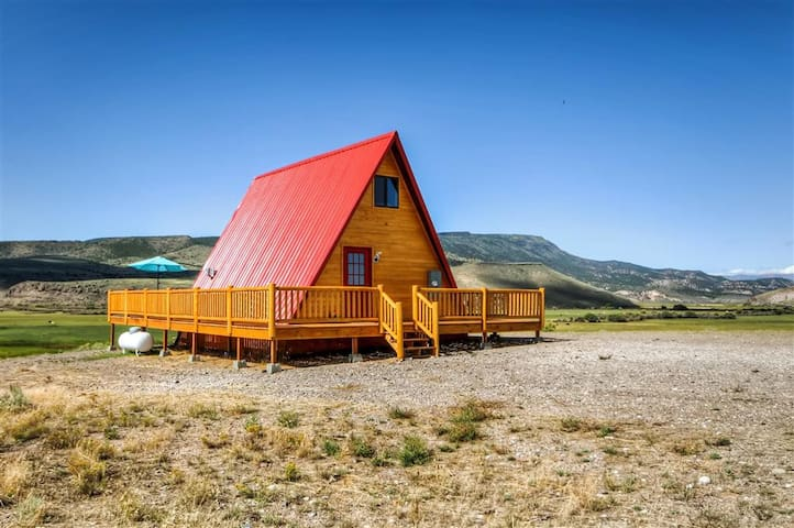Lovely A-Frame Antimony Cabin w/Gorgeous Mtn Views