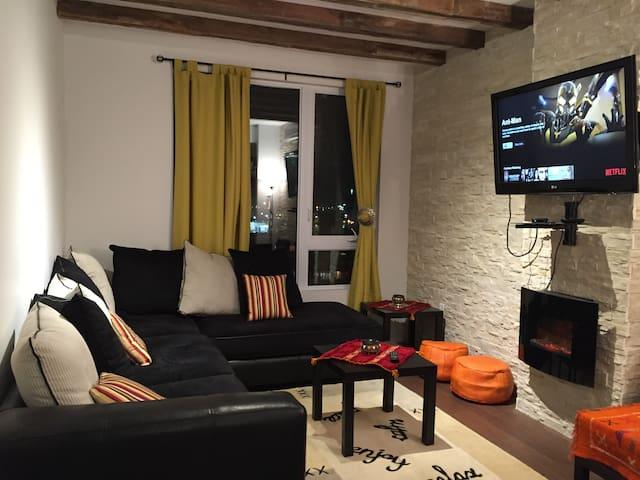 Modern Cozy Place with style - Montréal - Appartement en résidence