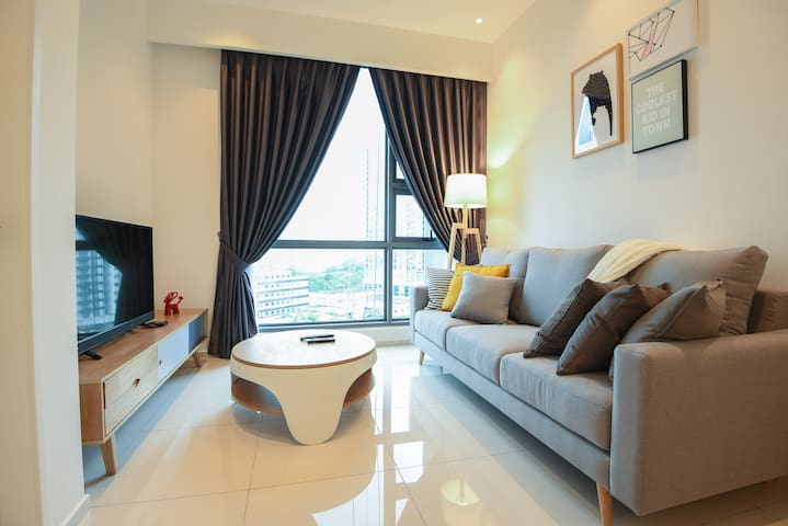 Cozy Room 500mMRT/Golf/Roof Top Pool Bukit Bintang