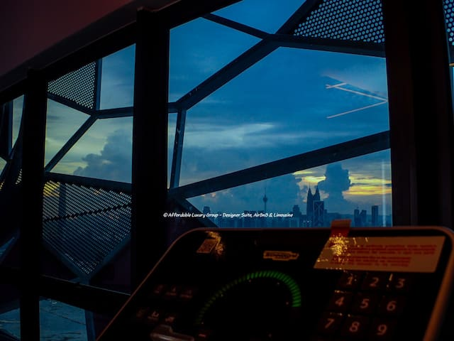 KLCC view from the Gym