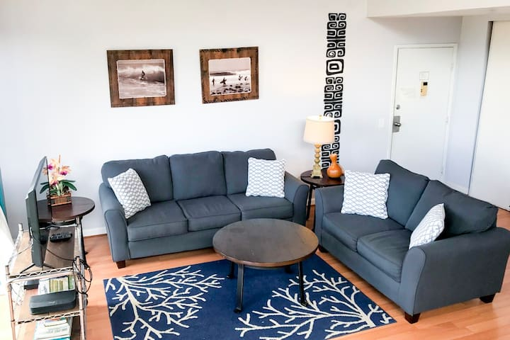 Living Room w/Cable TV, Blue Ray DVD, Wifi