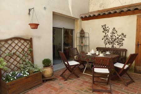 Chambre dans loft avec terrasse - Aviñón - Loft
