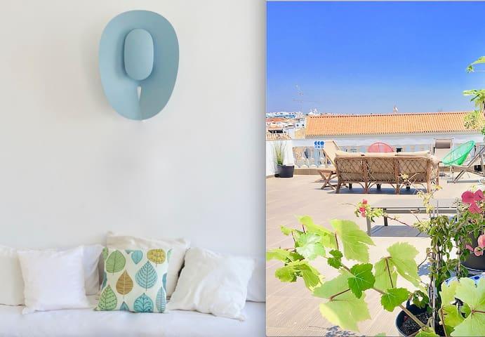 Quiet & confortable suite + terrace access