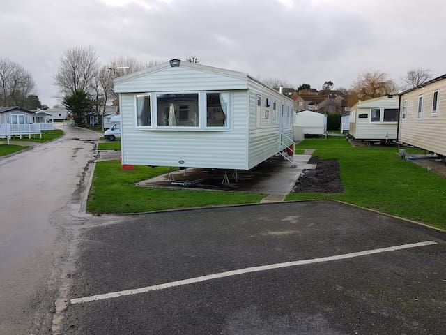 Weymouth bay haven deluxe static caravan