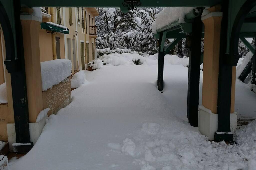 un jour de neige !