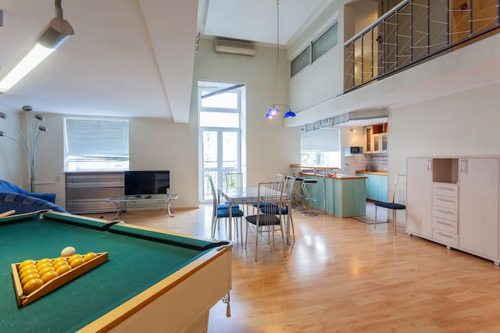 2-Level Billiard Table Penthouse Maidan Block