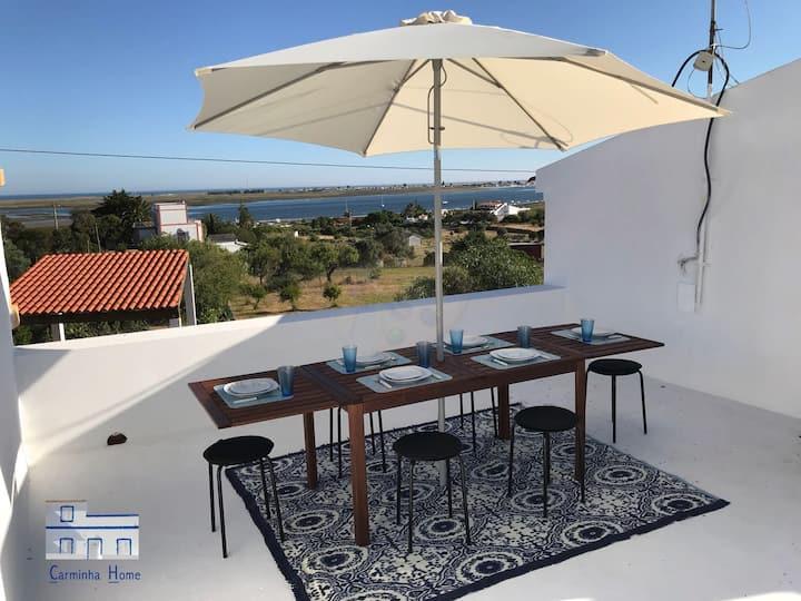 Carminha Home - Casa com vista para ilhas Algarve