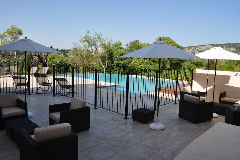 Piscine-Pool house