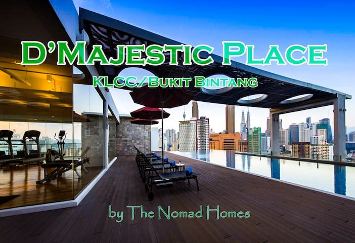 D81 MajesticSuite near METRO Amazing Sky Pool View