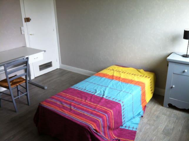 chambre idéale stagiaire, formateur, étudiant ... - Beauvais - Appartement