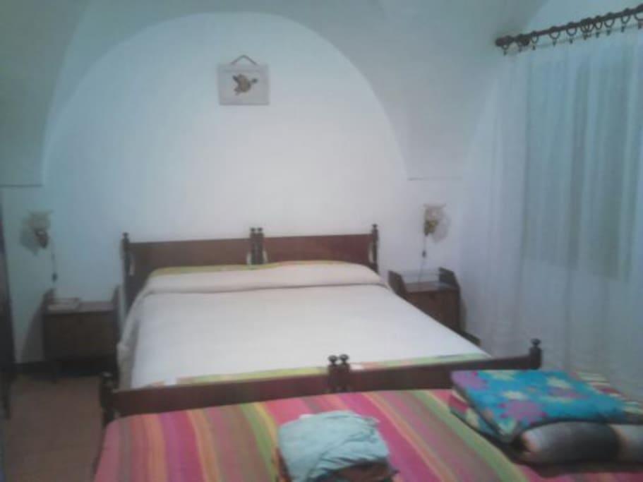 Camera Matrimoniale più letto singolo