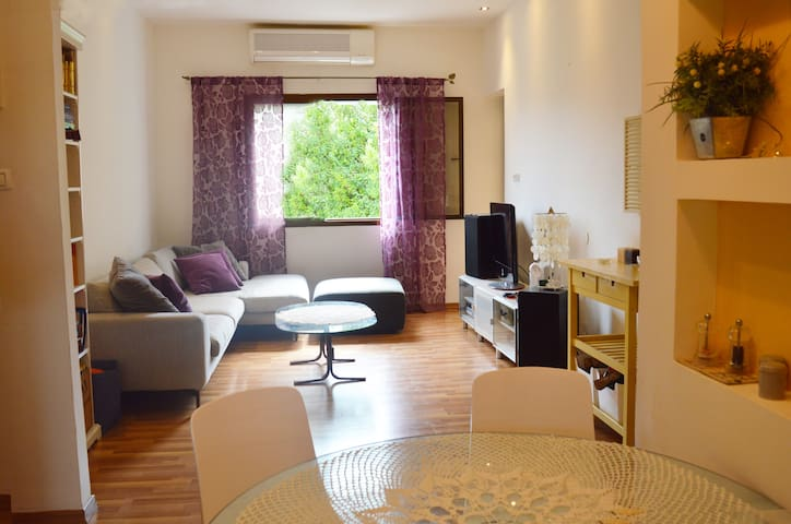 Central Haifa Family-friendly - 2 Bdrms - Haifa - Condominium