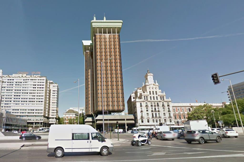 Edificio emblemático de la capital.