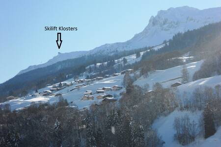 Charming chalet close to slopes of Klosters& Davos - Küblis