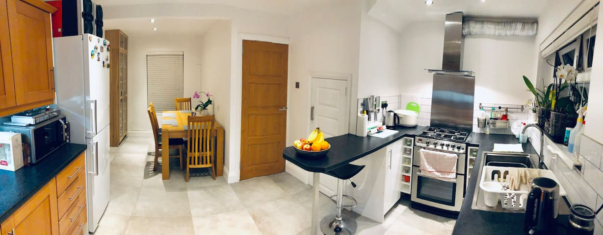 Newly refurbished! Quiet, modern and clean.