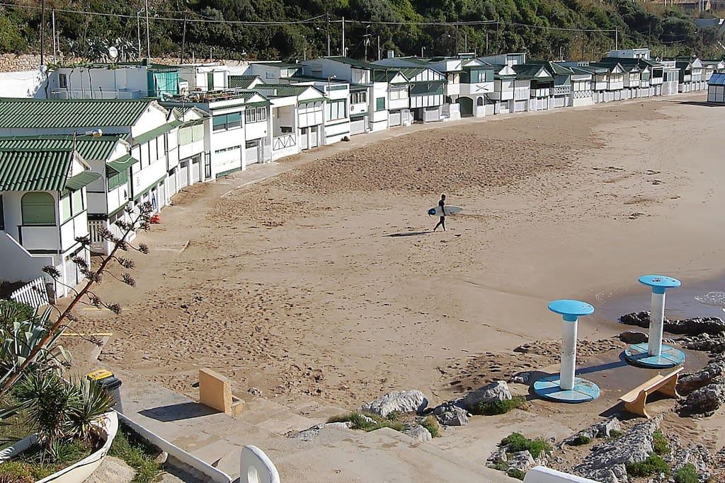 Playa a 250 mt. Les Casetes de Garraf