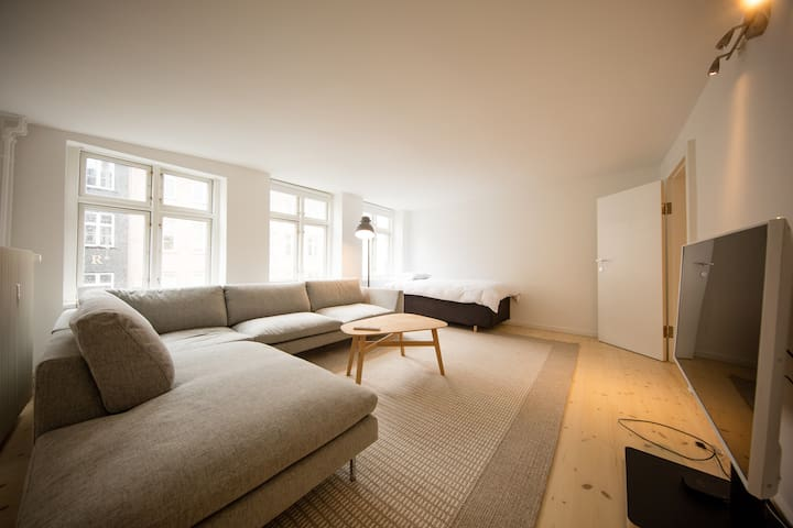 Dinesen Collection Two-Story Condo by Nyhavn