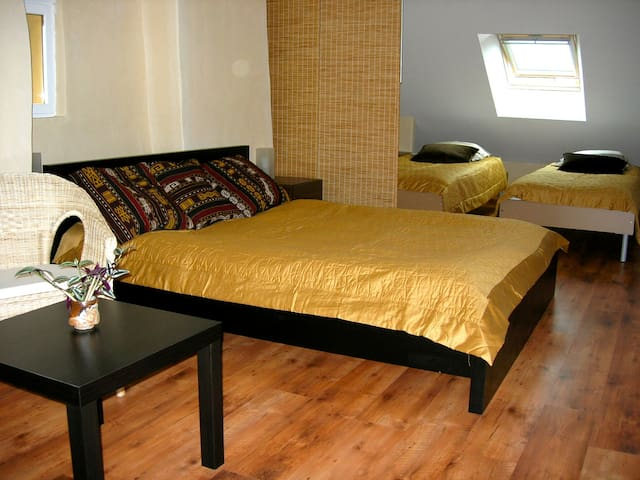 "La chambre familiale  ""Terre"" - Henrichemont - Bed & Breakfast"
