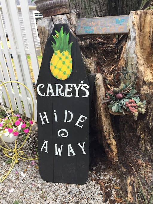 This is our home Carey's hideaway