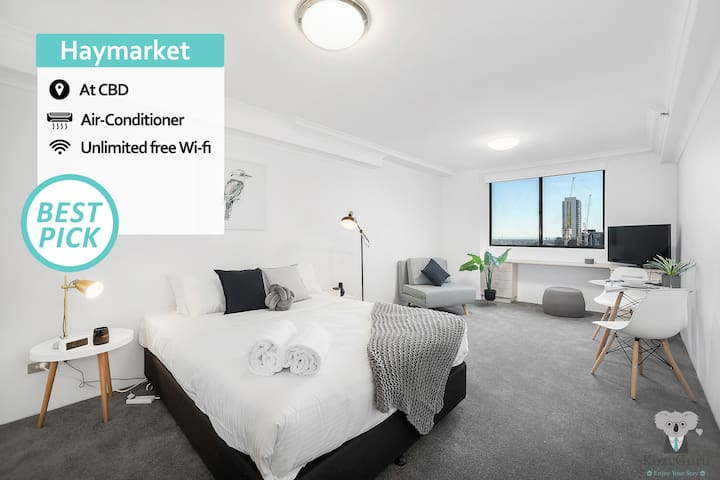 SYDNEY CBD Studio | Walk to Central Station +swimming pool 6B