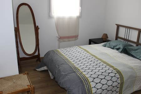 Chambre calme aux portes d'Angers.