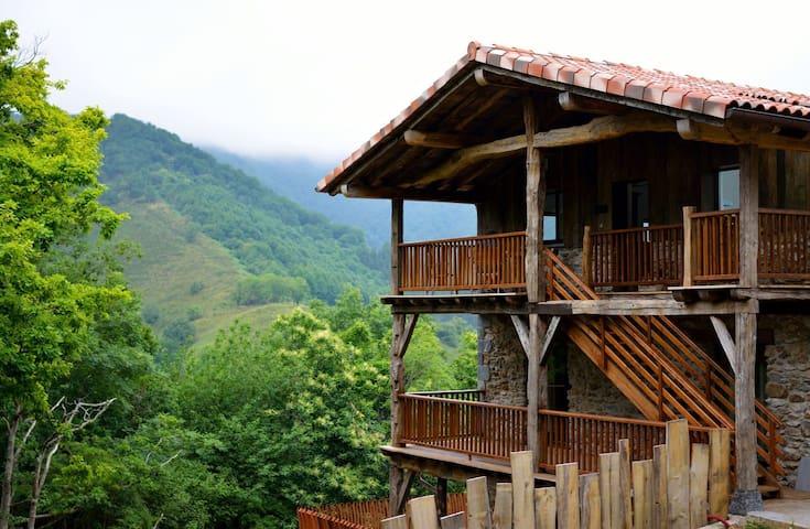 Apartamentos de lujo en la montaña (2 habitacion). - Arantza - Apartment