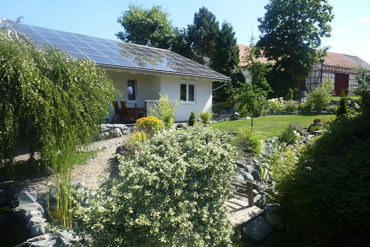 Cozy Holiday Home in Willersdorf with Pond