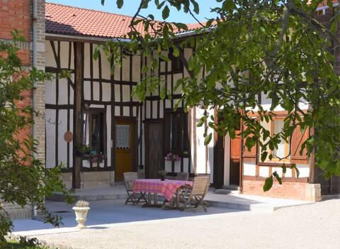 La Pinsonnière maison typique champenoise