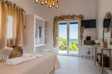 Mandrakia Totally Sea View Villa with pool
