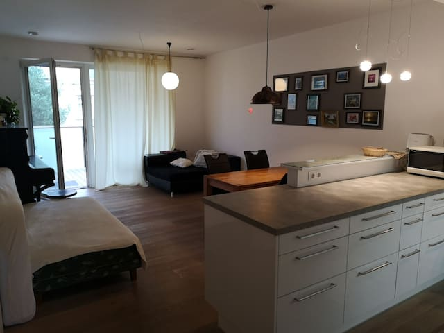 Chillout Appartment, zentral & ruhig, 2 Balkone