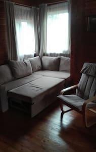 Уютный деревянный домик в элитном поселке - Moskwa - Hotel ekologiczny