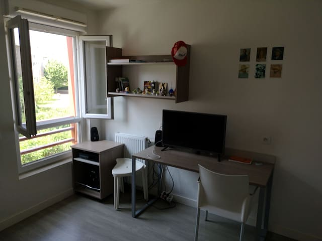 Studio calme et équipé Bois de Vincennes