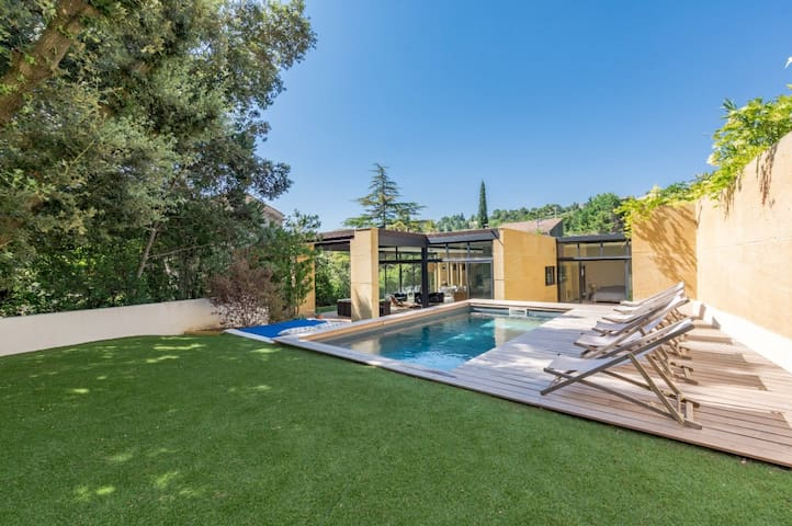 MAGNIFICENT ATYPICAL AND BIOCLIMATIC HOUSE - CLERMONT-L'HÉRAULT