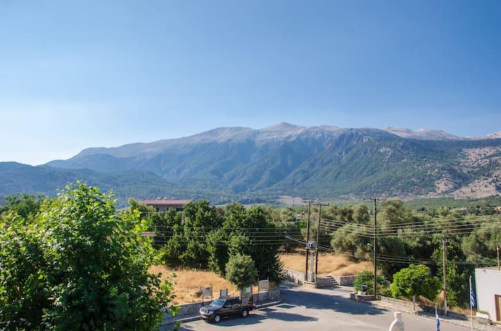 Platanos Anopoli Sfakia Mountain View triple room - Rethymno - Apartemen