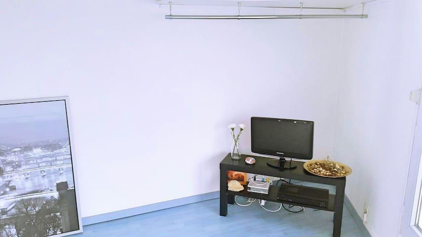 Studio spacieux entre Paris et Disney - Champs-sur-Marne