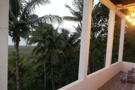 The balcony of the camiguin island