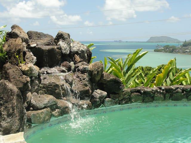 Hale Ikena.  No better view on Oahu.